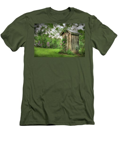 Fragrant Outhouse Men's T-Shirt (Athletic Fit)
