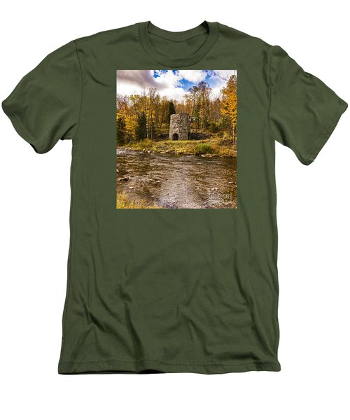 Franconia Fall Men's T-Shirt (Slim Fit) by Anthony Baatz