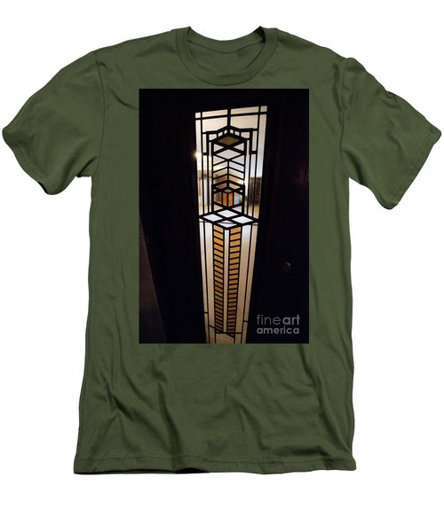 Frederick Robie House - 3 Men's T-Shirt (Slim Fit) by David Bearden