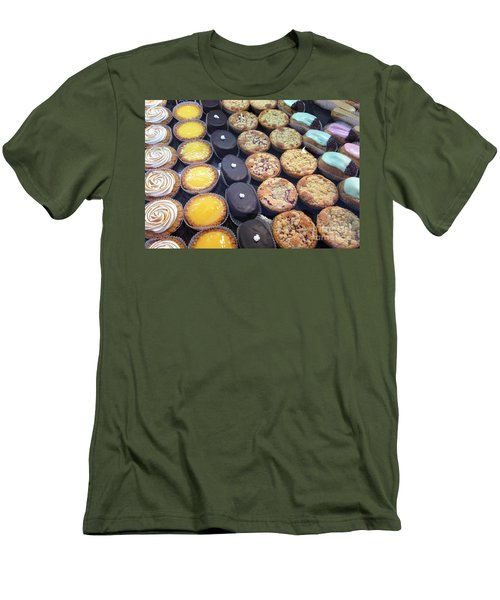 Men's T-Shirt (Slim Fit) featuring the photograph French Tarts by Therese Alcorn