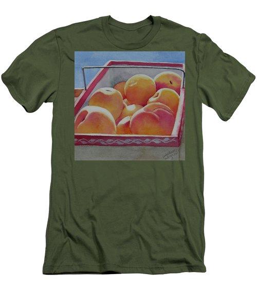 Fresh Peaches Men's T-Shirt (Athletic Fit)