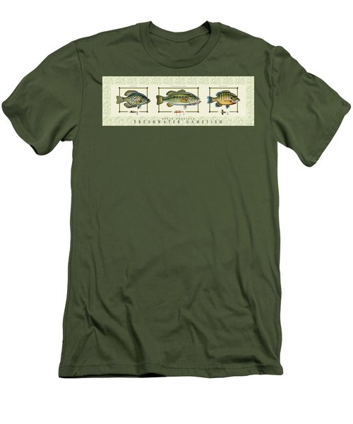 Freshwater Gamefish Men's T-Shirt (Athletic Fit)