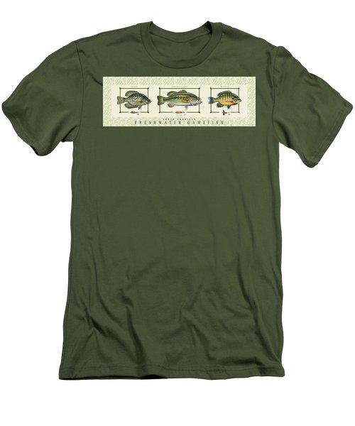 Freshwater Gamefish Men's T-Shirt (Athletic Fit)