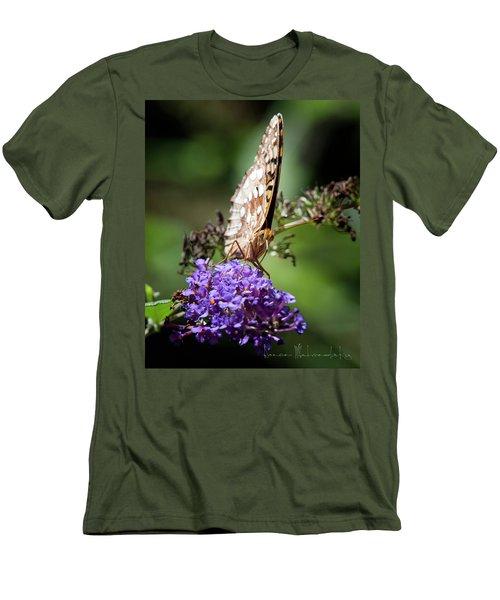 Fritillary Men's T-Shirt (Athletic Fit)