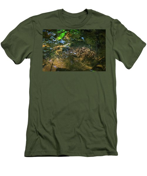Men's T-Shirt (Athletic Fit) featuring the photograph Frog Days Of Summer by Bill Pevlor
