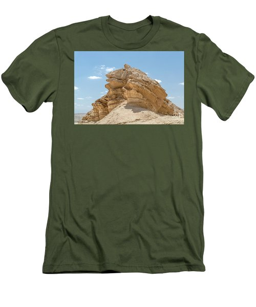 Men's T-Shirt (Slim Fit) featuring the photograph Frog Rock by Arik Baltinester