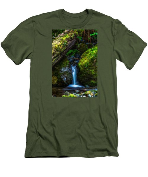 From Between Men's T-Shirt (Slim Fit) by James Heckt