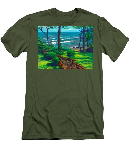 From The Hacienda Men's T-Shirt (Slim Fit) by Jeanette Jarmon