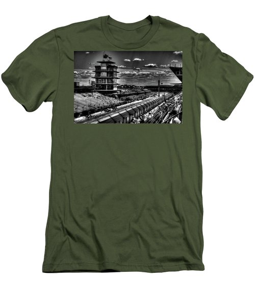 From The Hulman Suites  Men's T-Shirt (Slim Fit) by Josh Williams