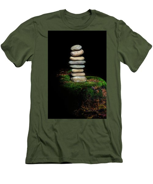 Men's T-Shirt (Slim Fit) featuring the photograph From The Shadows by Marco Oliveira