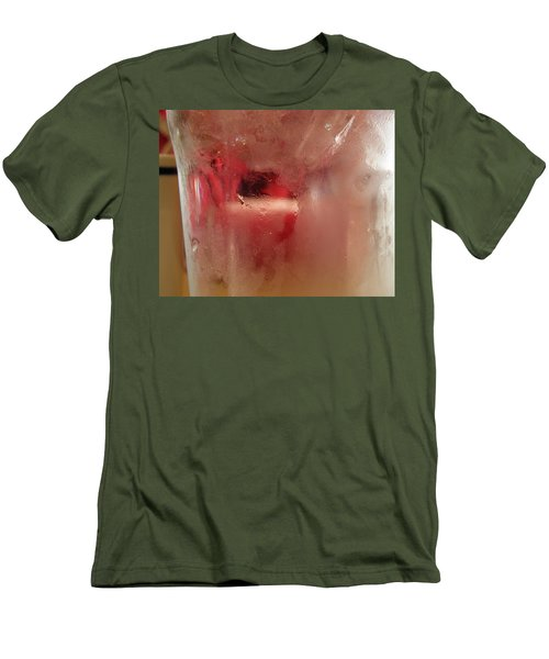 Men's T-Shirt (Athletic Fit) featuring the photograph Frosty Cold by Fran Riley
