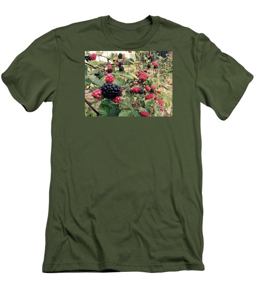 Fruit Of The Vine Men's T-Shirt (Athletic Fit)