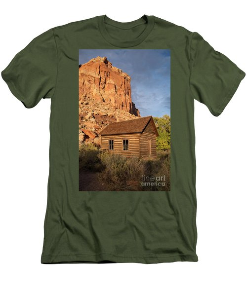 Fruita School Men's T-Shirt (Slim Fit) by Cindy Murphy - NightVisions