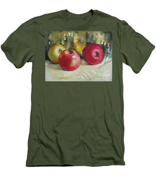 Fruits Of The Earth Men's T-Shirt (Slim Fit) by Elena Oleniuc