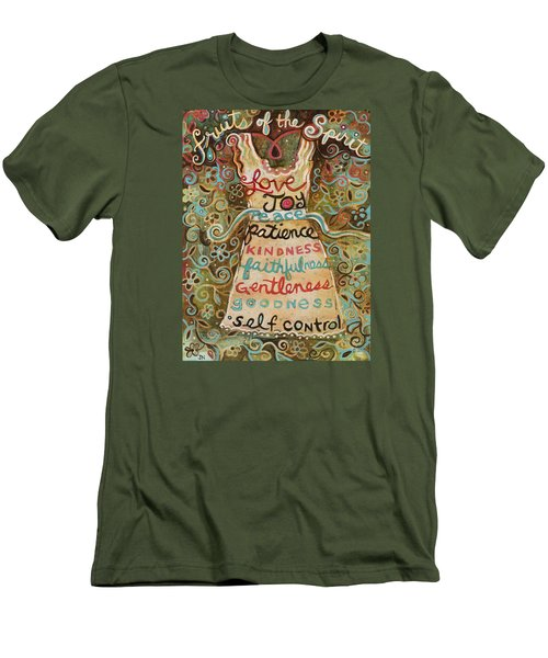Fruits Of The Spirit Men's T-Shirt (Athletic Fit)