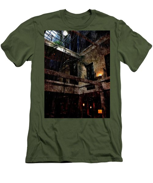 Full Moon At Tremont Toujouse Bar Men's T-Shirt (Athletic Fit)