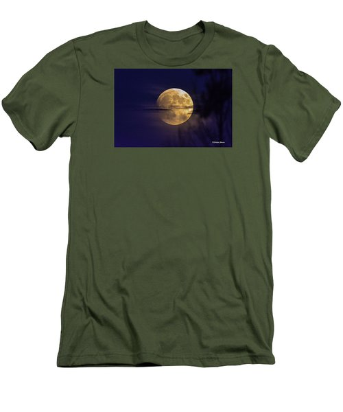 Full Moon Rise  Men's T-Shirt (Athletic Fit)