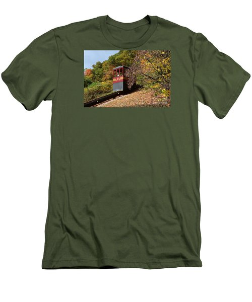 Funicular Descending Men's T-Shirt (Athletic Fit)