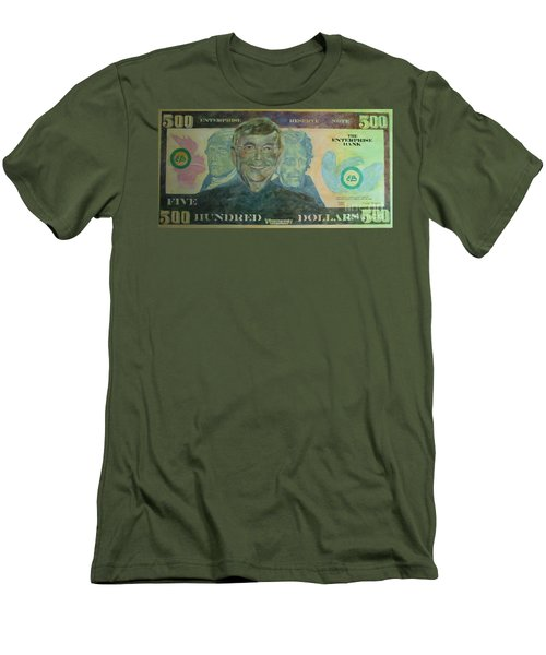 Funny Money Men's T-Shirt (Athletic Fit)