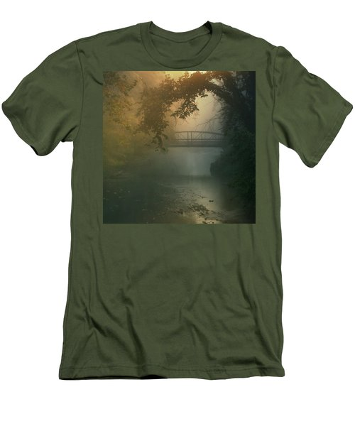 Furnace Run - Square Men's T-Shirt (Slim Fit) by Rob Blair