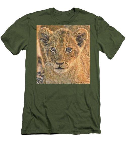 Fuzzy Cubby Men's T-Shirt (Athletic Fit)