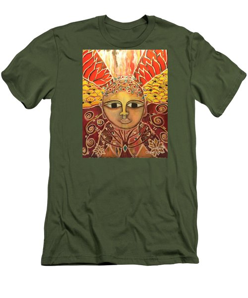 Gaia - Mother Earth  Men's T-Shirt (Athletic Fit)