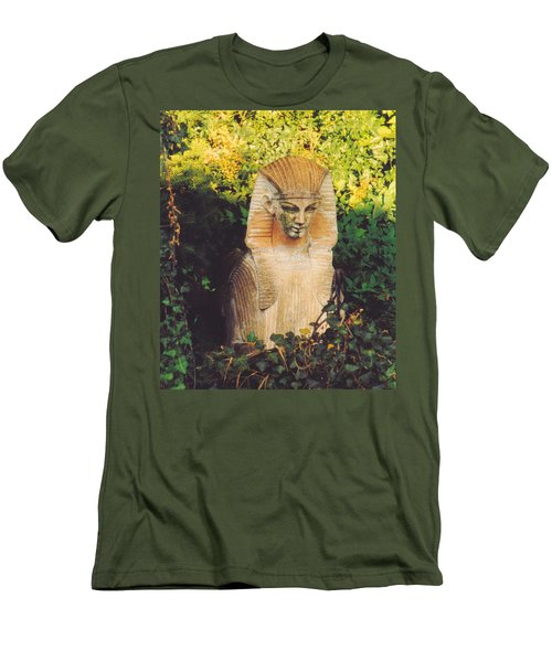 Garden Guardian Men's T-Shirt (Slim Fit) by Jan Amiss Photography