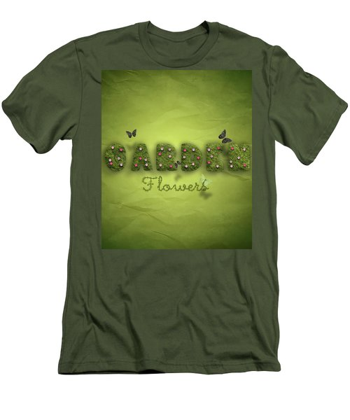 Garden Men's T-Shirt (Slim Fit) by La Reve Design