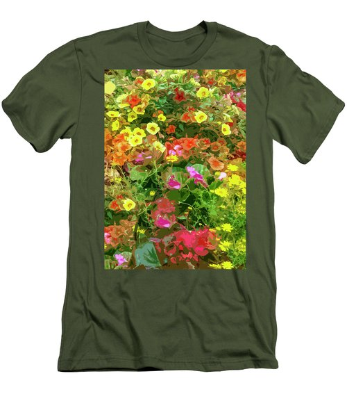 Garden Of Color Men's T-Shirt (Athletic Fit)