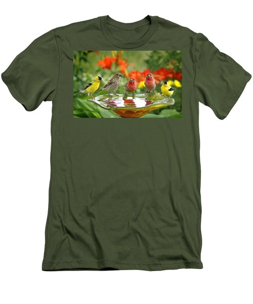 Garden Party Men's T-Shirt (Athletic Fit)