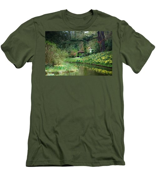 Garden Pond Men's T-Shirt (Athletic Fit)