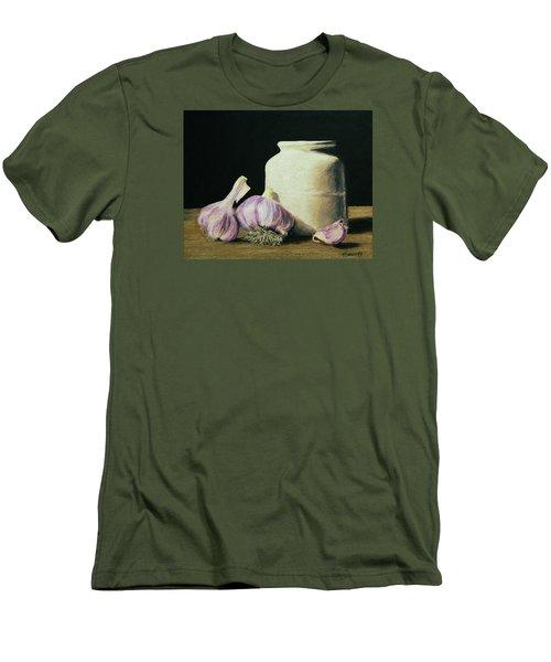 Garlic Crock Men's T-Shirt (Athletic Fit)