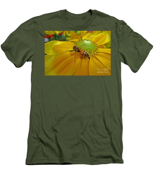 Gathering Nectar Men's T-Shirt (Athletic Fit)