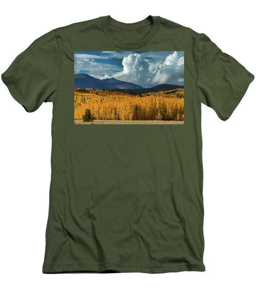 Gathering Storm - Park County Co Men's T-Shirt (Slim Fit) by Dana Sohr