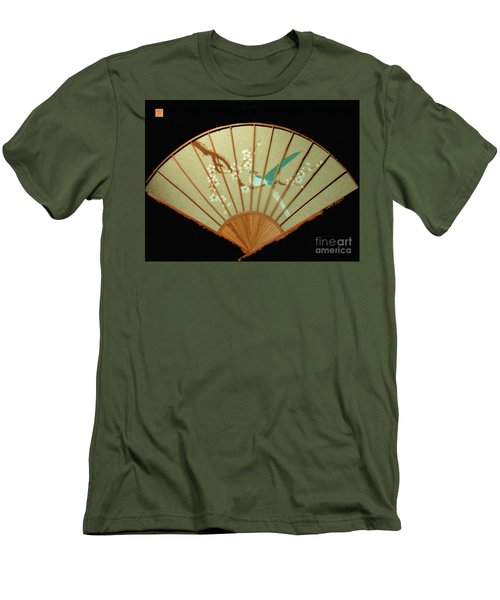 Geisha Sunrise Men's T-Shirt (Athletic Fit)