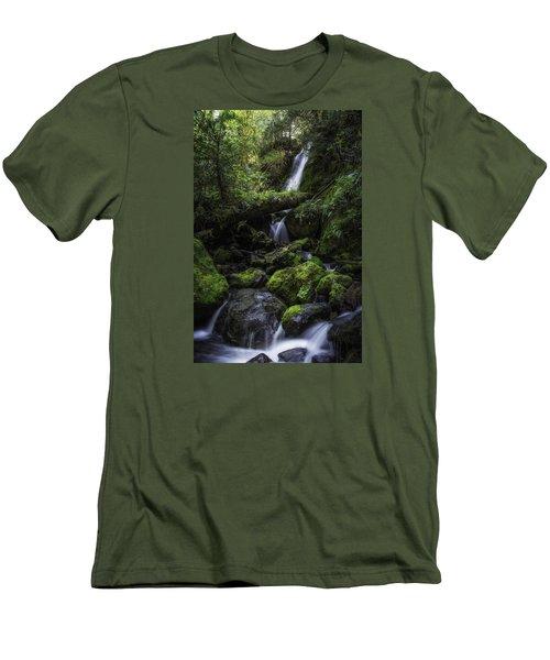 Gentle Cuts Men's T-Shirt (Slim Fit) by James Heckt