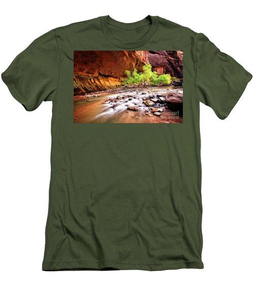 Gentle Flow Men's T-Shirt (Athletic Fit)