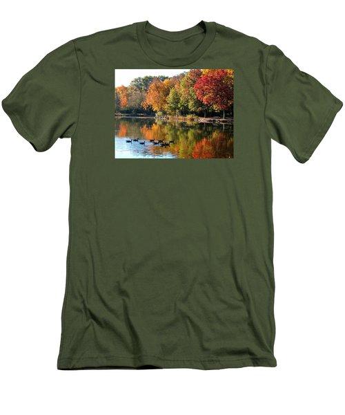 Gentle Reflections Men's T-Shirt (Slim Fit) by Teresa Schomig