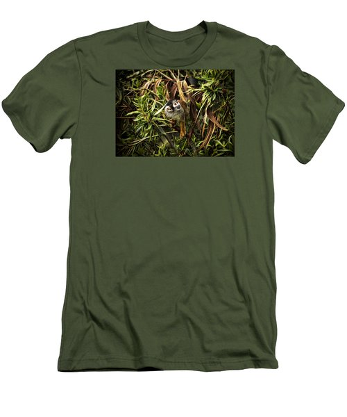 George Men's T-Shirt (Slim Fit) by Cameron Wood