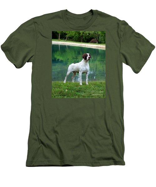 German Short-hair Pointer  Men's T-Shirt (Athletic Fit)