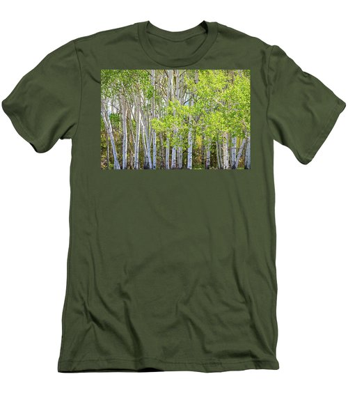 Getting Lost In The Wilderness Men's T-Shirt (Slim Fit) by James BO Insogna