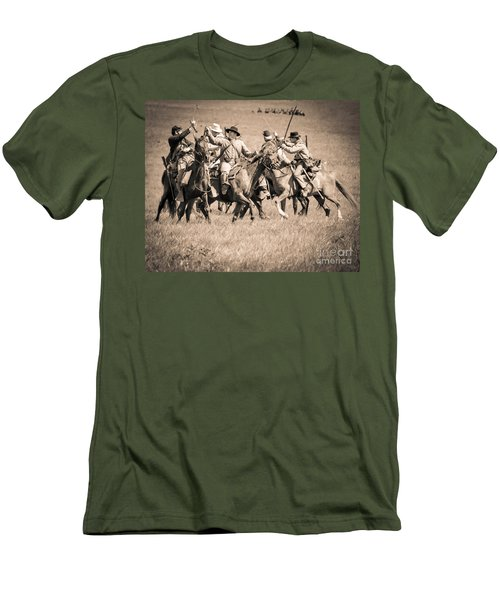 Gettysburg Cavalry Battle 7948s  Men's T-Shirt (Athletic Fit)