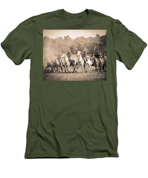 Gettysburg  Union Cavalry 7901s  Men's T-Shirt (Athletic Fit)