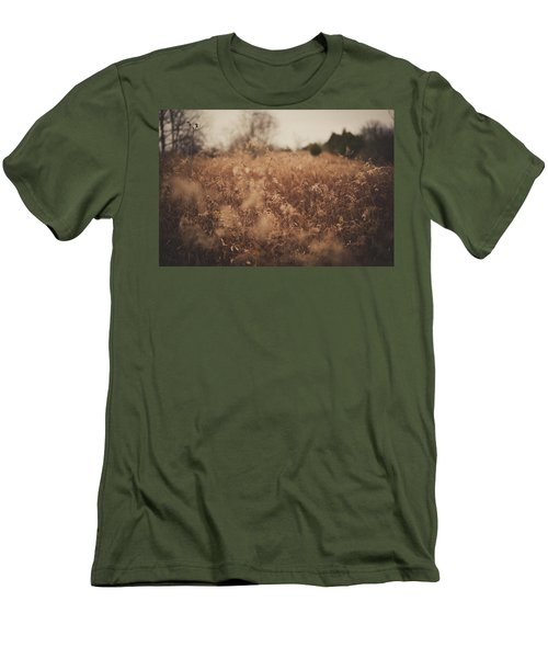 Men's T-Shirt (Slim Fit) featuring the photograph Ghost by Shane Holsclaw