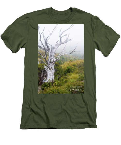 Men's T-Shirt (Slim Fit) featuring the photograph Ghost by Werner Padarin