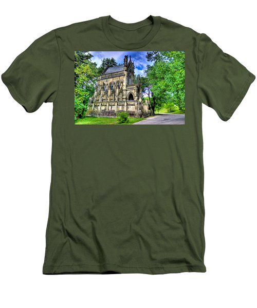 Giant Spring Grove Mausoleum Men's T-Shirt (Athletic Fit)
