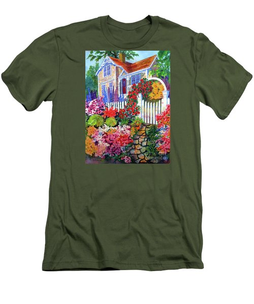 Gingerbread In Bloom Men's T-Shirt (Athletic Fit)