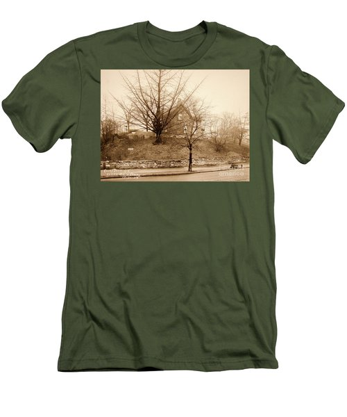 Ginkgo Tree, 1925 Men's T-Shirt (Slim Fit) by Cole Thompson