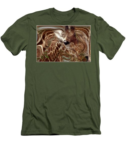 Giraffe Dreams No. 1 Men's T-Shirt (Athletic Fit)