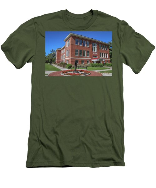 Men's T-Shirt (Slim Fit) featuring the photograph Girard Hall Day Shot by Gregory Daley  PPSA